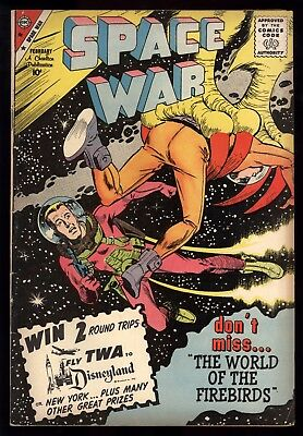 Space War (1959) #3 1st Print Dick Giordano Cover Science Fiction Stories VG+