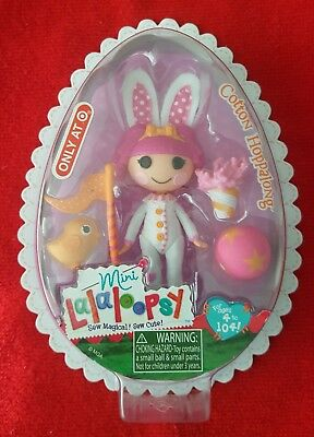 NEW Mini Lalaloopsy Doll COTTON HOPPALONG Target Exclusive RARE LIMITED EDITION