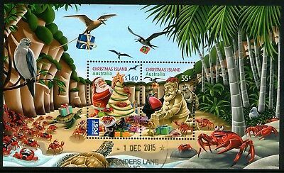 Christmas Island 2012 Christmas Miniature Sheet Fine Used