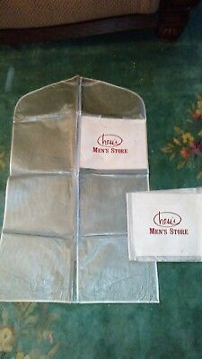 Hess's Department Store Allentown Pa- lot of 2 large clouds/jackets bags-unused!