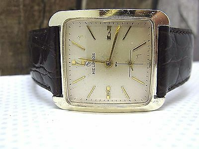 Helbros Vintage Large Swiss Handwind Watch 1960