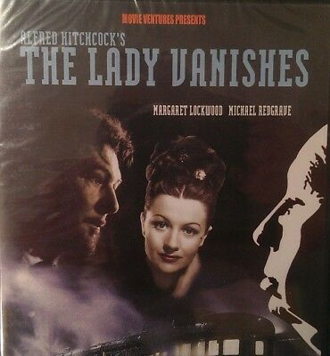 The Lady Vanishes DVD Alfred Hitchcock Margaret Lockwood Mystery Thriller