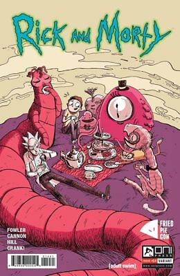 Rick And Morty #14 Fried Pie Con Variant (Oni Press) Adult Swim/ Bam