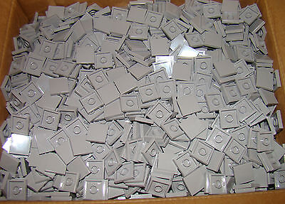 New Lego Light Grey Flat Tiles 2x2 (Lot of 50)