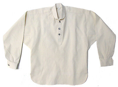 Reproduction Civil War Muslin Shirt for Reenactors OFF WHITE - Various Sizes