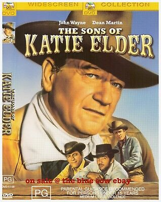 The Sons of Katie Elder DVD R4 John Wayne, Dean Martin
