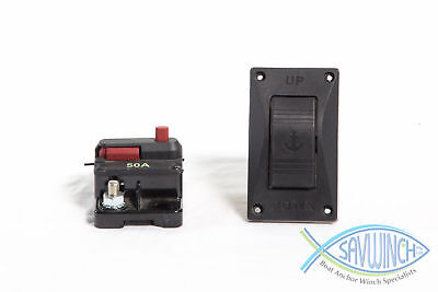 SAVWINCH 50 Amp Circuit Breaker