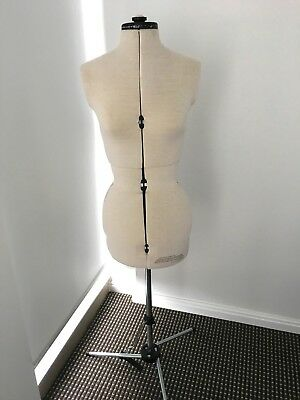 Adjustable dressmakers dummy/mannequin (small size)