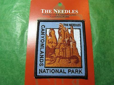 Canyonlands National Park The Needles Embroidered Patch Utah Travel Souvenir-P59