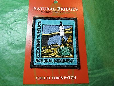 Natural Bridges National Monument Embroidered Patch Utah Travel Souvenir-P6