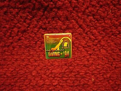 St. Louis Gateway to the Gold Festival US Olympic Festival Pin 1994 S.W. Bell