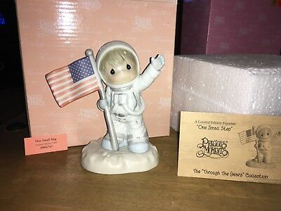 Precious Moments One Small Step Astronaut Limited Edition 7500 Rare!!!