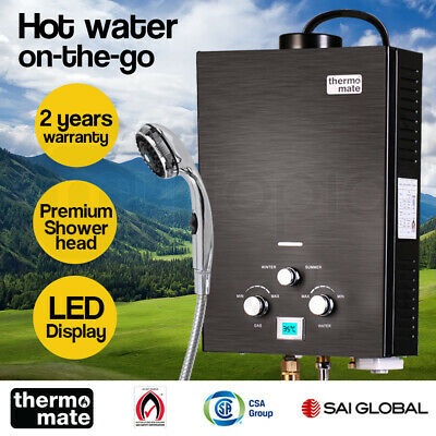 【20%OFF】Thermomate Outdoor Water Heater Gas Camping Portable Tankless Hot