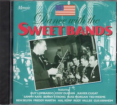"""Dance With The Sweet Bands """"Various"""" NEW & SEALED CD 25 Tracks 1st Class Post UK"""