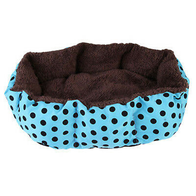 Soft Flannel Warm Pet Bed Puppy Dog Cat Kitten House Cozy Nest Mats Pads Kennel