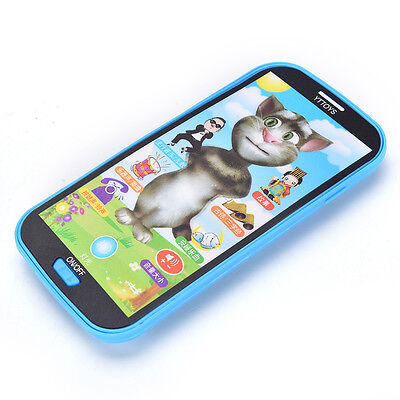 Baby Kids Simulator Music Phone Touch Screen Kid Educational Learning Toy LE