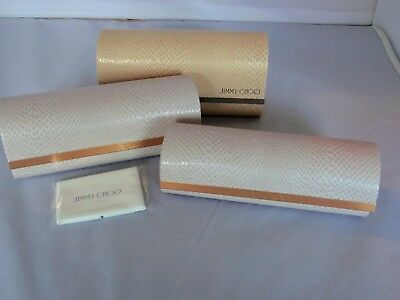 Jimmy Choo Eyeglass & Sunglass Cases New! Your Choice!