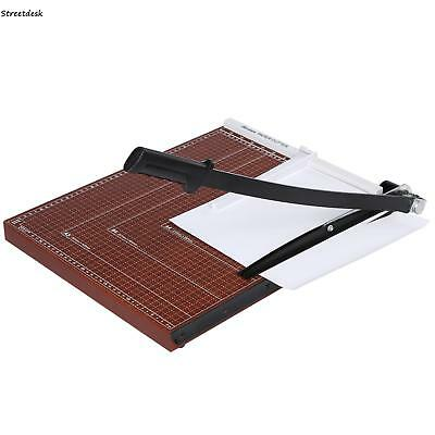 Heavy Duty A3 Photo Paper Cutter Guillotine Card Trimmer with Ruler Home Office
