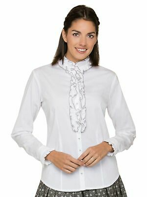 Stockerpoint Traditional Costume Blouse Emilia Grey