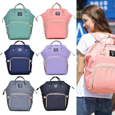 Multi-use Large Mummy Backpack Baby Diaper Nappy Rucksack Mommy Bag Changing UK