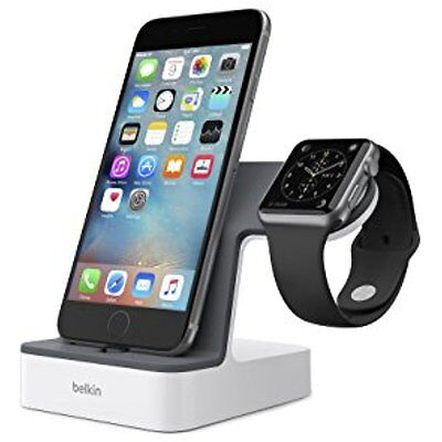 Electronics Features PowerHouse Charge Dock For Apple Watch And IPhone