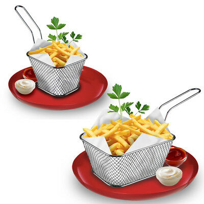 Snacks Chip Food Serving Baskets French Fries Crisps Dish Party Restaurant Style