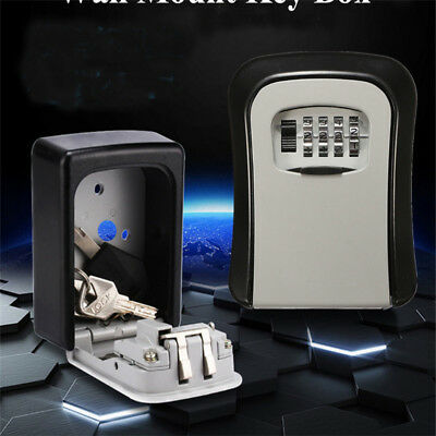 Wall-Mounted Password Box Home Improvement Outdoor Storage Safety Key Box