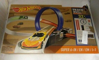 00c1858f3d40f  1 HOT WHEELS DPF20 Track Builder Super 6-in-1 Race Track Set - USED    COMPLETE - EUR 18