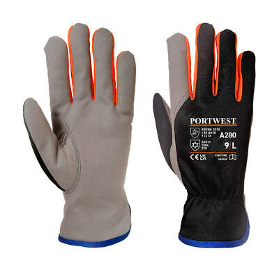 Portwest A280 Wintershield Fleece Lined Thermal Warm Gloves EN511 Cold Protect