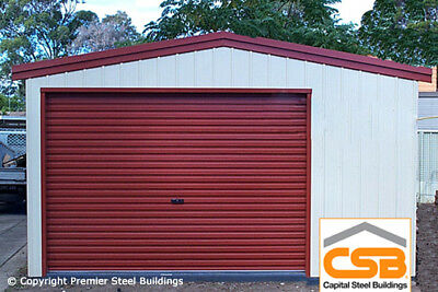 Premier,Steel Building,Metal,Shed,Garage,Workshop,Classic Metal Garage Kit