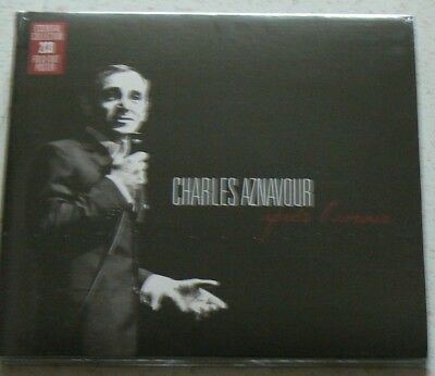 APRES L'AMOUR (Best of) - AZNAVOUR CHARLES (CD x2)  NEUF SCELLE