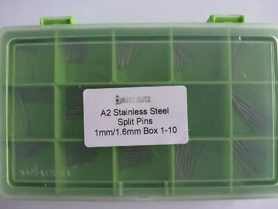 Split pins/Cotter pins Stainless Steel Mixed Box