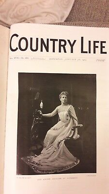 Country Life Magazine Vol XVII January to July1905