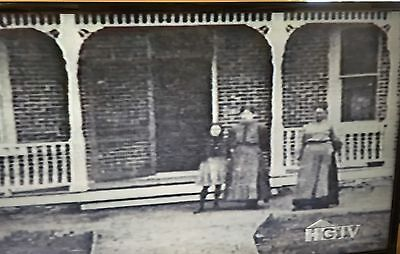 5 Antique Porch Load Bearing Posts Heavy (2)Two Full, (3) Three Half Columns1905