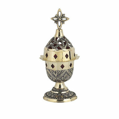 High Quality New Standing Brass Vigil Lamp Greek Orthodox Church Kandili Russian