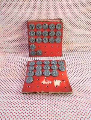Vintage Acro Hold-Tite Window Numbers / Markers