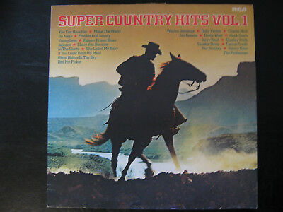 """SUPER COUNTRY HITS VOL.1, Compilation, Serie """"Super Country Hits"""""""