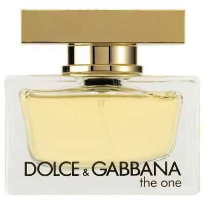 DOLCE E GABBANA THE ONE EDP VAPO SPRAY 75ml ORIGINALE SENZA SCATOLA