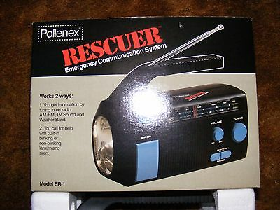 Vintage Pollenex  Rescuer Emergency Communication System