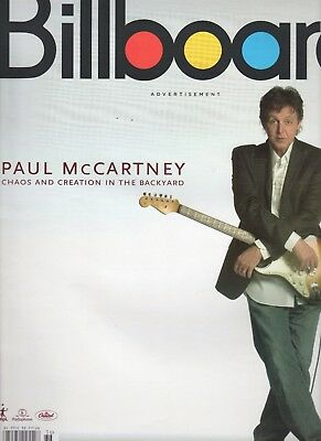 Paul McCartney Billboard Magazine Sep 3,2005 Chaos And Creation Lp Release