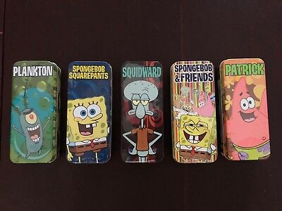 Spongebob Squarepants Watch Collection - Burger King 2004 Promo