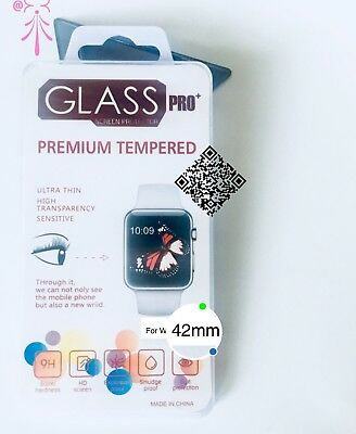 Apple Watch 42mm Premium Tempered Glass Screen Film Protector