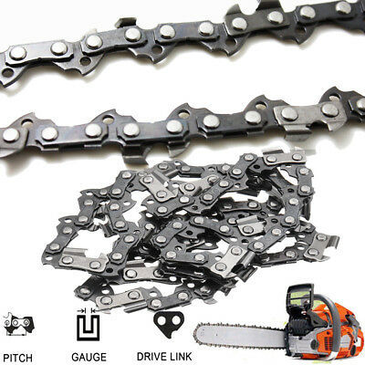 """10'' 12'' 14'' 16'' 18'' 20'' 3/8""""LP Chainsaw Chain Blade Replacement Saw Part"""