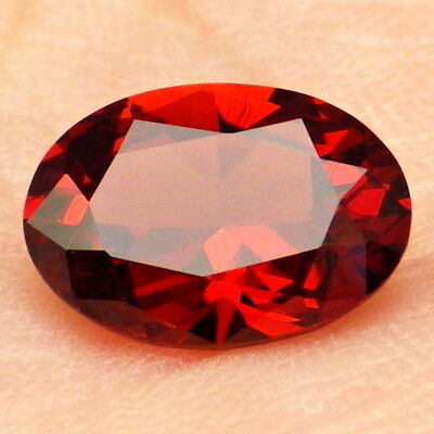 MALAYA GARNET-E.AFRICA 2.27Ct CLARITY SI2-INCREDIBLE NATURAL COLOR-FOR JEWELRY!