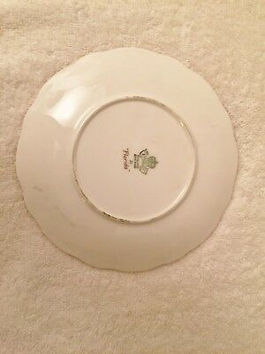Aynsley England Bone China Bread & Butter Plate Florida White John Aynsley 6.25""