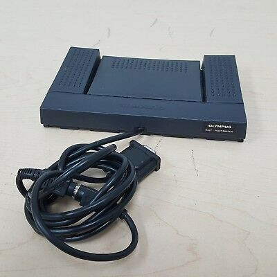 Olympus RS-27 Dictation Transcription Foot Switch w/ RS232 Serial Adapter Cable