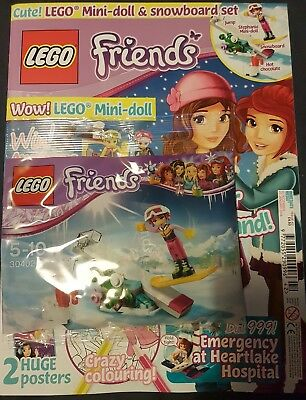 LEGO Friends issue  42.  13 Dec With free gift