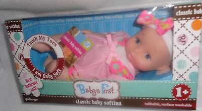 ~Babys First Classic Softina Baby Doll