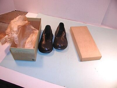 Vintage Child's Rubber Overshoes in Box Utica Footwear Size 5