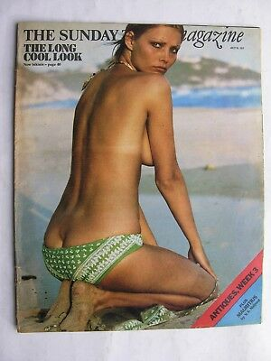 SUNDAY TIMES July 16 1972 Mauritius V. S. Naipaul Bikinis Central Pages Missing